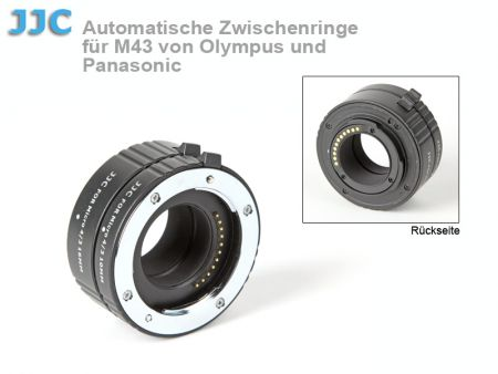 JJC Auto-Extension Tubes for Micro 4/3