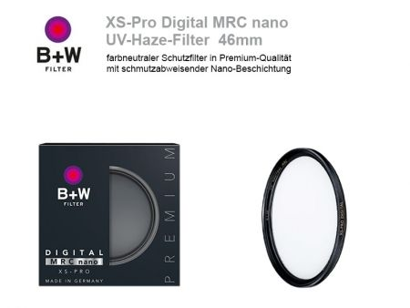 B+W UV-Haze-Filter XS-Pro Digital MRC nano, 46mm