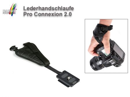 Leather Wrist Strap Pro Connexion 2.0 by Kaiser Fototechnik