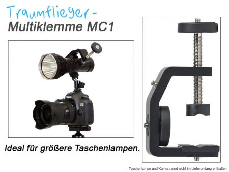 Traumflieger Multi Clamp MC1 - 60mm