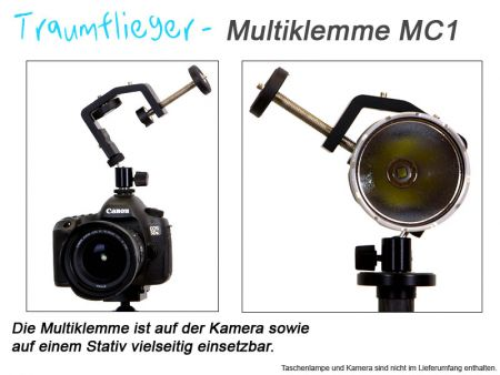 Traumflieger Multiklemme MC1 - 60mm