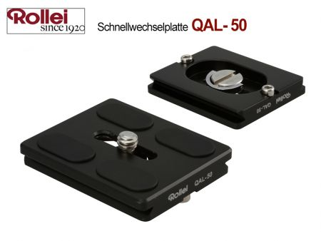 Rollei Quick Release Plate QAL-50, 2 pcs.