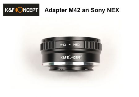 Adapter M42 an Sony NEX