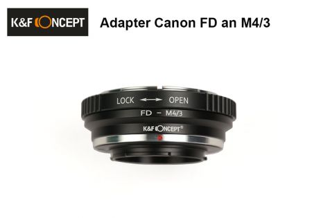 Adapter Canon FD to Micro 4/3