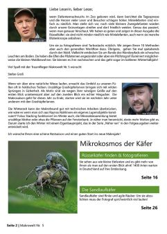 Traumflieger Makrowelt Edition Nr. 5