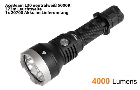 AceBeam L30 II neutral white 5000K
