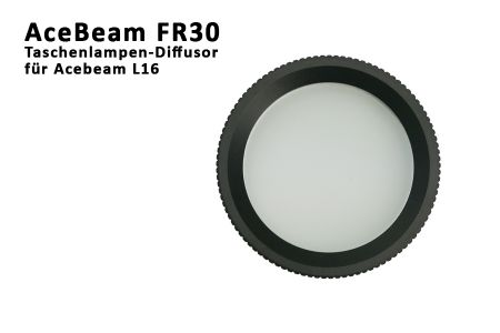 Acebeam diffusor fr30 f r l16 traumflieger for Foto lampen