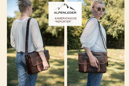 Alpenleder Camera Bag Reporter