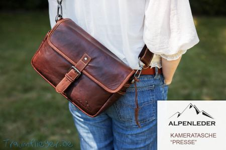 Alpenleder Presse - camera bag for mirrorless ILC