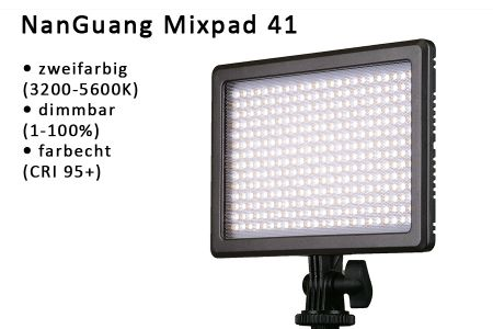 videolight NanGuang Mixpad 41
