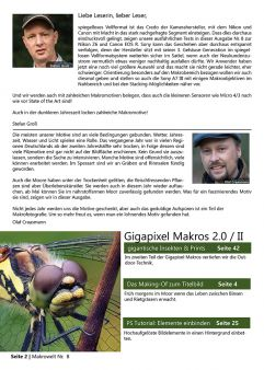 Traumflieger MAKROWELT - edition Nr. 8