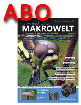 Traumflieger MAKROWELT prepaid abo for 4 editions (starting nr.8)