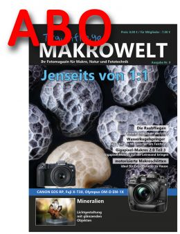 Traumflieger MAKROWELT prepaid abo for 4 editions (starting nr.9)