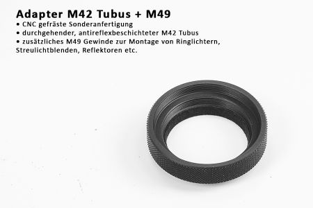 adapter M42 tube + M49
