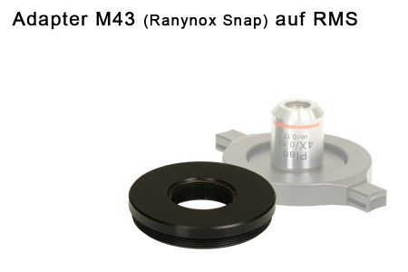snapadapter M43 (Raynox Snap) to RMS