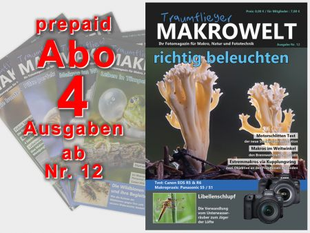 Traumflieger MAKROWELT prepaid abo for 4 editions (starting nr.12)