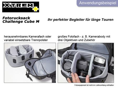 Backpack XTREM+ Daypack Challenge Cube M