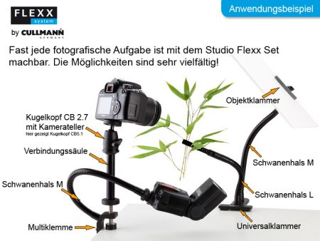 Cullmann Flexx Studio Set