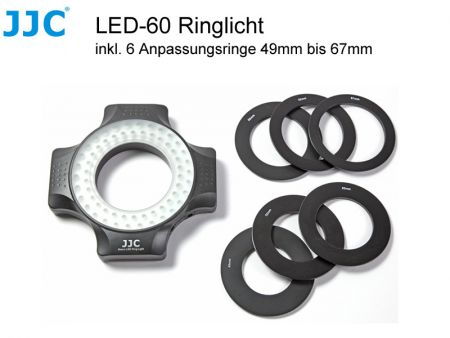 JJC LED-60 Macro Ring Light