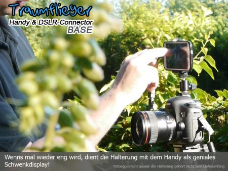 Traumflieger Handy and DSLR Connector BASE