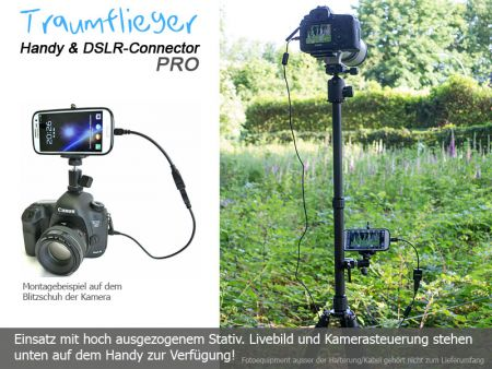Traumflieger Handy and DSLR Connector PRO