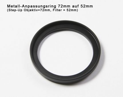 Step-down Ring 72mm to 55mm