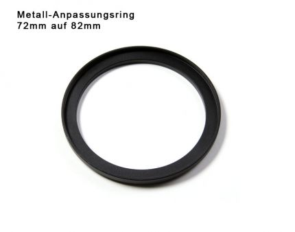 Step up Ring 72 to 82mm