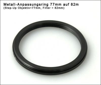 Step up Ring 77 to 82mm