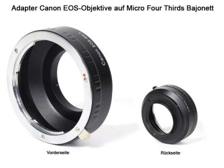 Adapter Canon EOS auf Micro Four Thirds