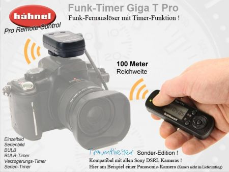 Funk-Timer 100m Hähnel Giga T Pro II Sony
