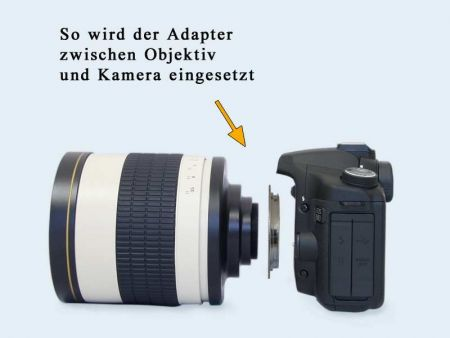 M42 Adapter for Canon EOS