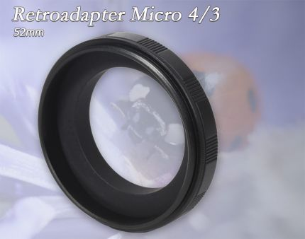 Retro-Adapter Micro 4/3 52mm