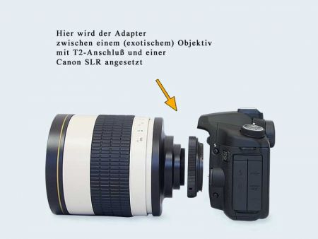 T2 Adapter for Canon EOS