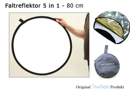 Reflector 5 in 1 - 80cm