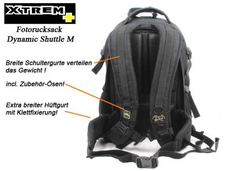 Backpacker with backaccess XTREM Shuttle M