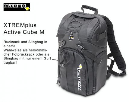 Backpack XTREM Plus Active Cube M
