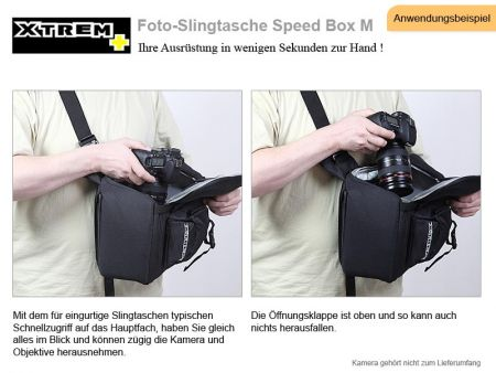 Foto Slingtasche XTREM PLUS Speed Box M SONDERPREIS!