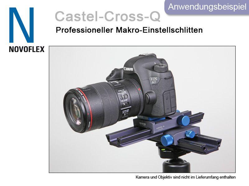 Novoflex Kreuzeinstellschlitten CASTEL-Cross-Q von PHOTO-PORST-MEMMINGEN