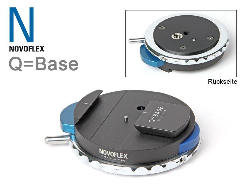 novoflex q base schnellkupplung traumflieger. Black Bedroom Furniture Sets. Home Design Ideas