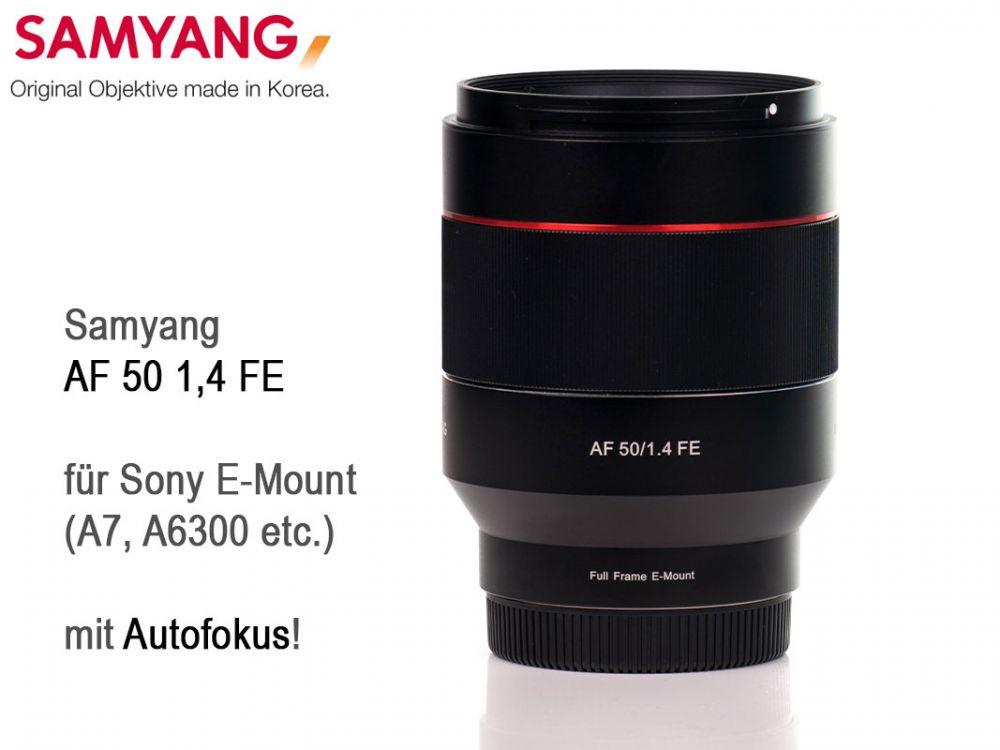 Samyang AF 50mm F1.4 FE ( Sony E-Mount ) - Traumflieger