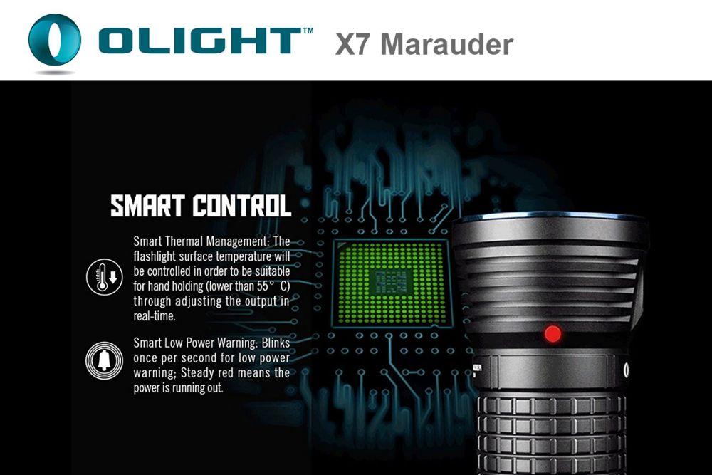 Olight X7 Marauder NW Kit, Ultra Flooder 9000 Lumen ...